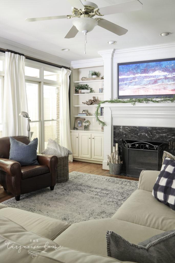 Hale Navy Living Room Makeover