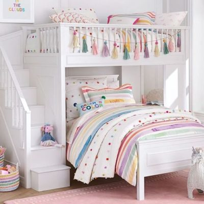 White Filmore Bunk Beds