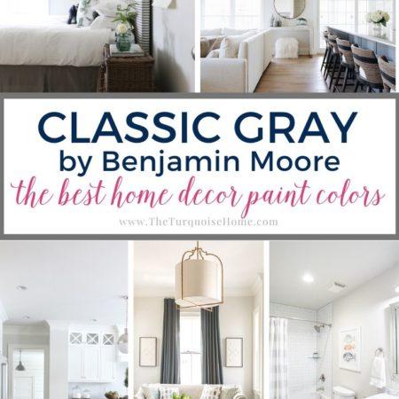 Classic Gray by Benjamin Moore