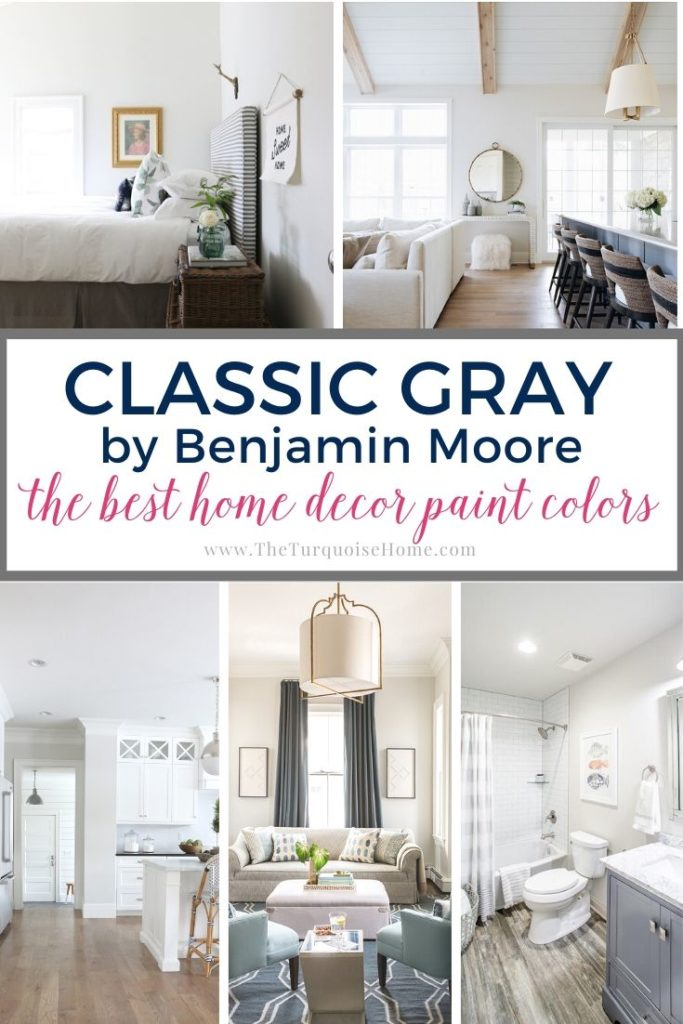 Classic Gray by Benjamin Moore