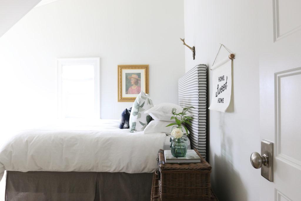 Classic Gray Guest Bedroom