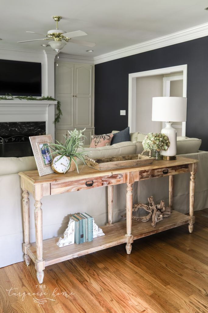 Console Table without baskets