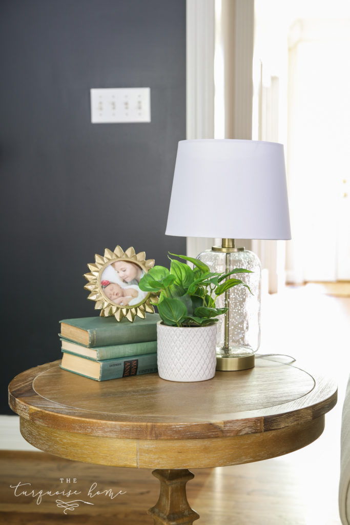 Home Decor 101 How To Decorate End Tables The Turquoise Home