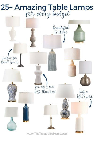 25+ Amazing Table Lamps for Your Home