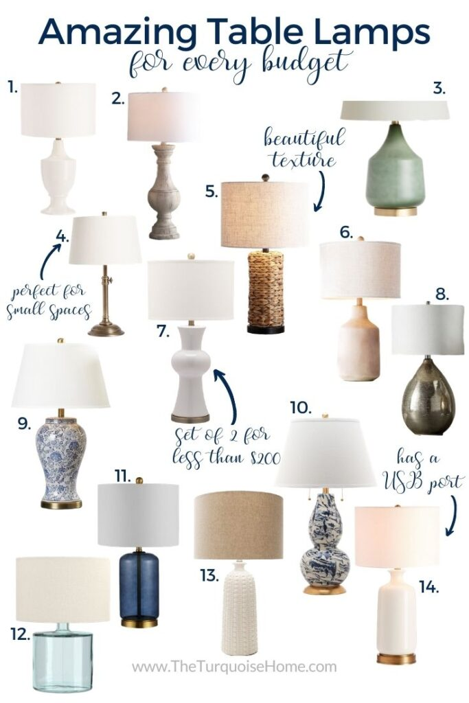 14 Table Lamps for Every Budget