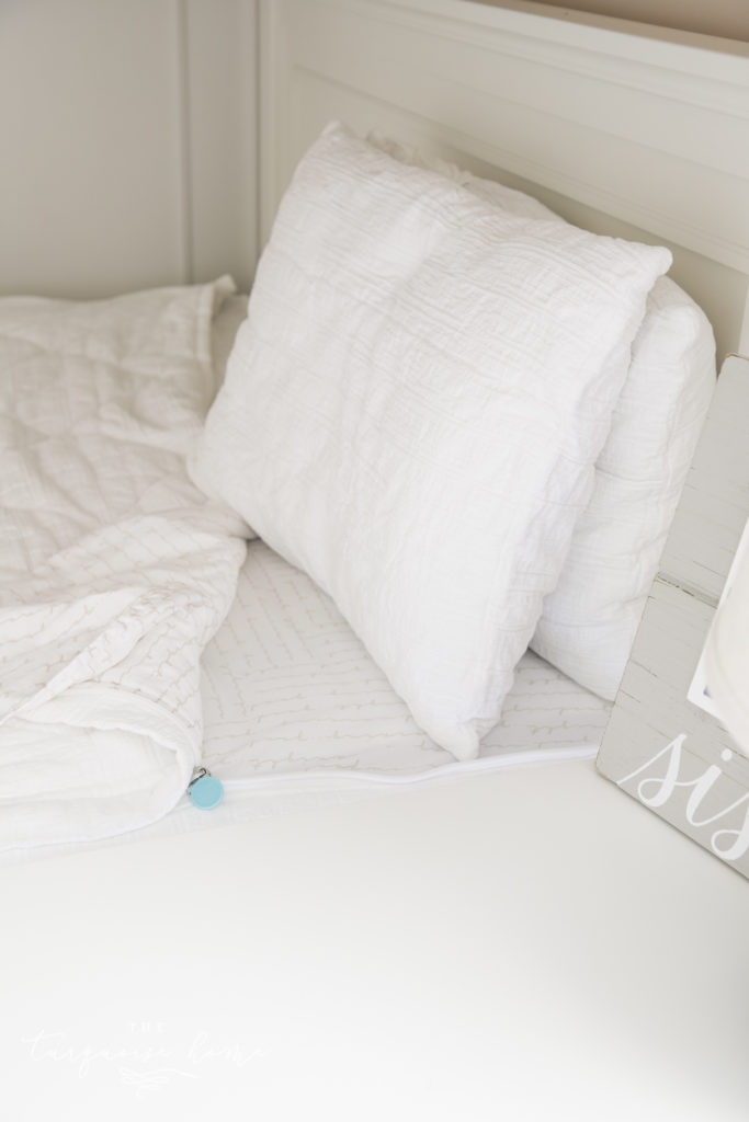 The Perfect Bedding For Bunk Beds Our New Loft Beds The Turquoise Home