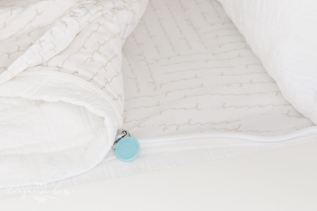 zippered bedding for bunk beds