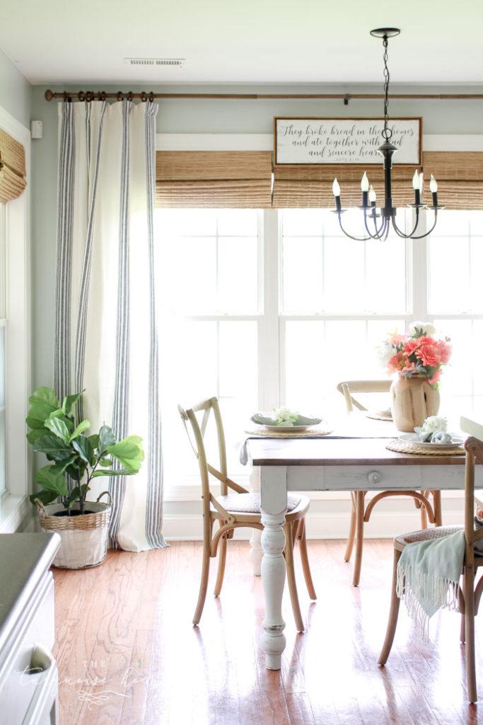 Casual farmhouse kitchen