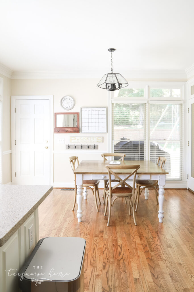 Kitchen with Edgecomb Gray walls