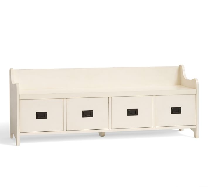 Wade Bench with Drawers