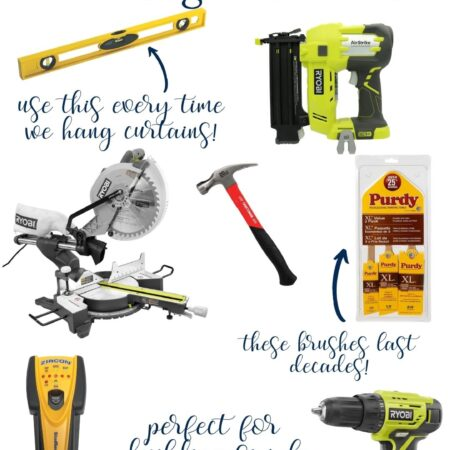 10+ Essential Tools for a Beginner DIYer