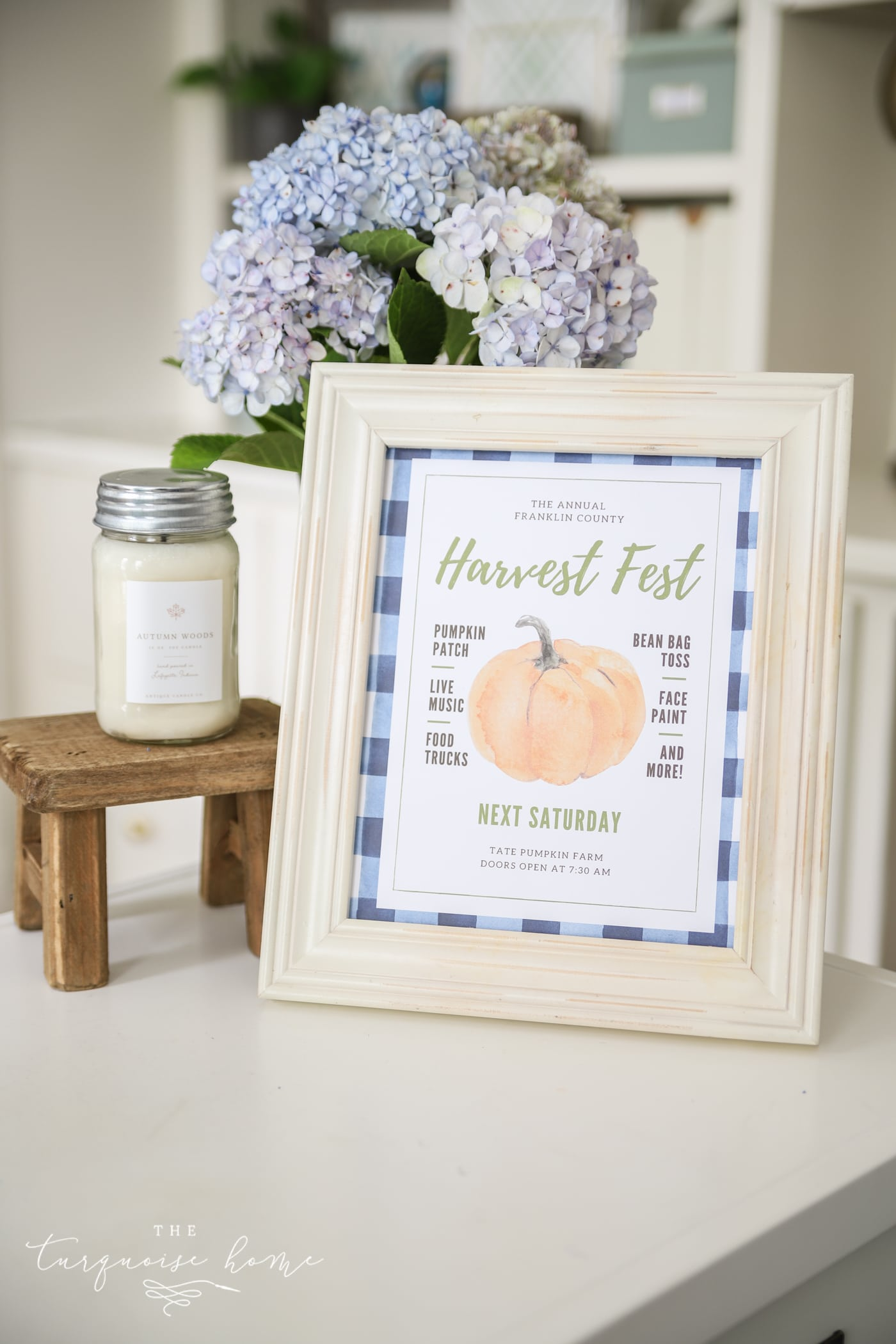 Harvest Fest Free Fall Printable