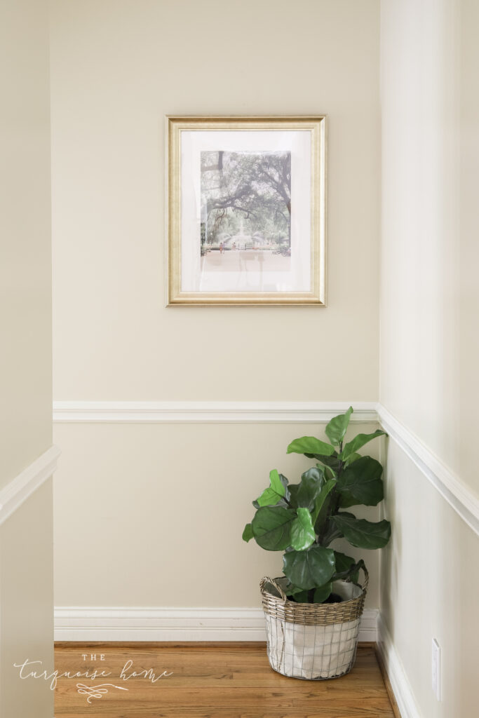Framed Art in Hallway Decor Ideas
