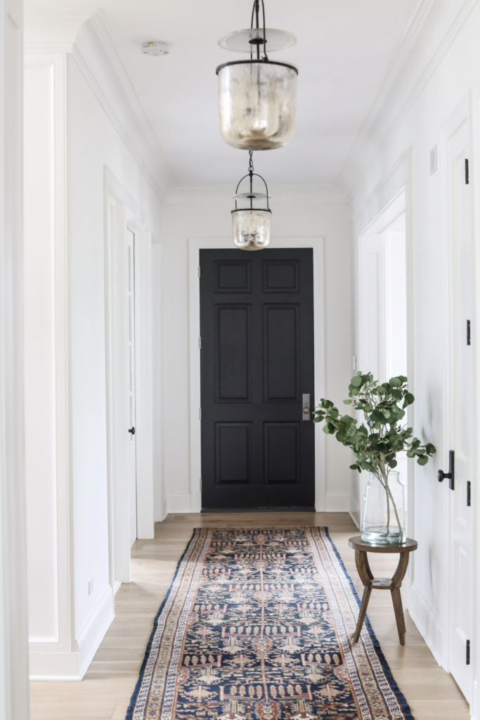 Park & Oak Hallway with Rug