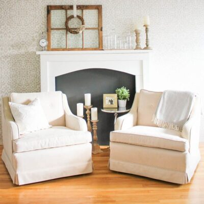 Simple DIY Fireplace