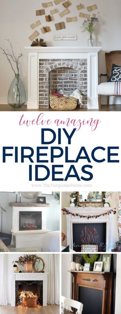 DIY Fireplace Ideas
