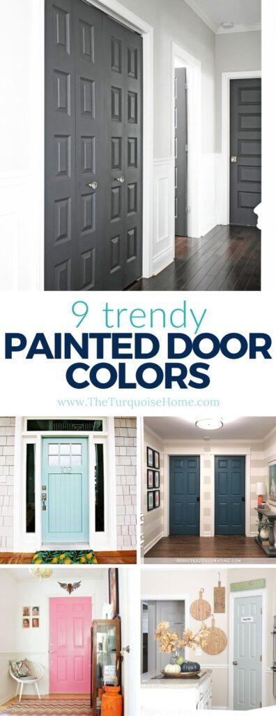 9 Trendy Interior Door Paint Color Ideas