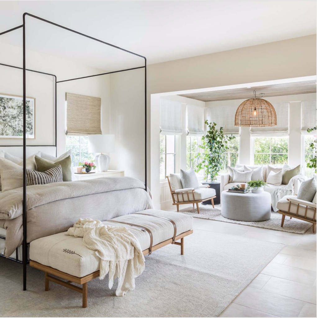 Master Bedroom by Pure Salt Interiors