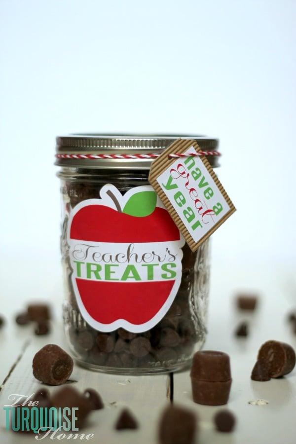Back-to-School Teacher Treat Jars