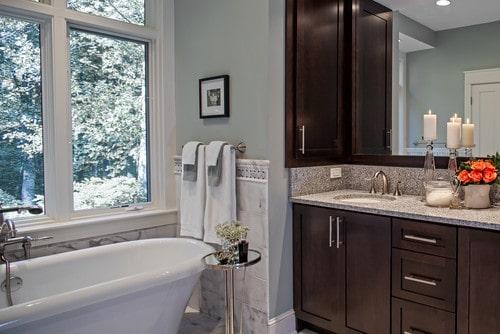 Comfort Gray in the Bathroom