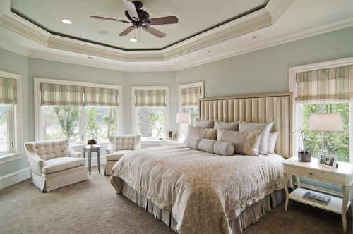 Comfort Gray in the Bedroom