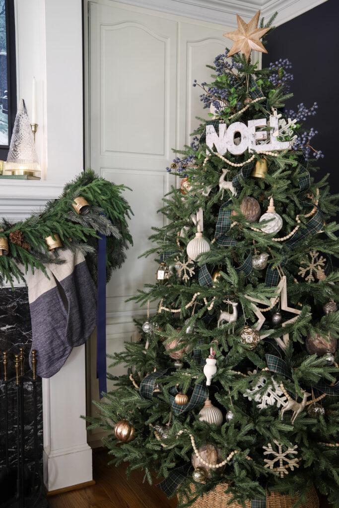 Frasier Fir Grande Christmas Tree in the Living Room