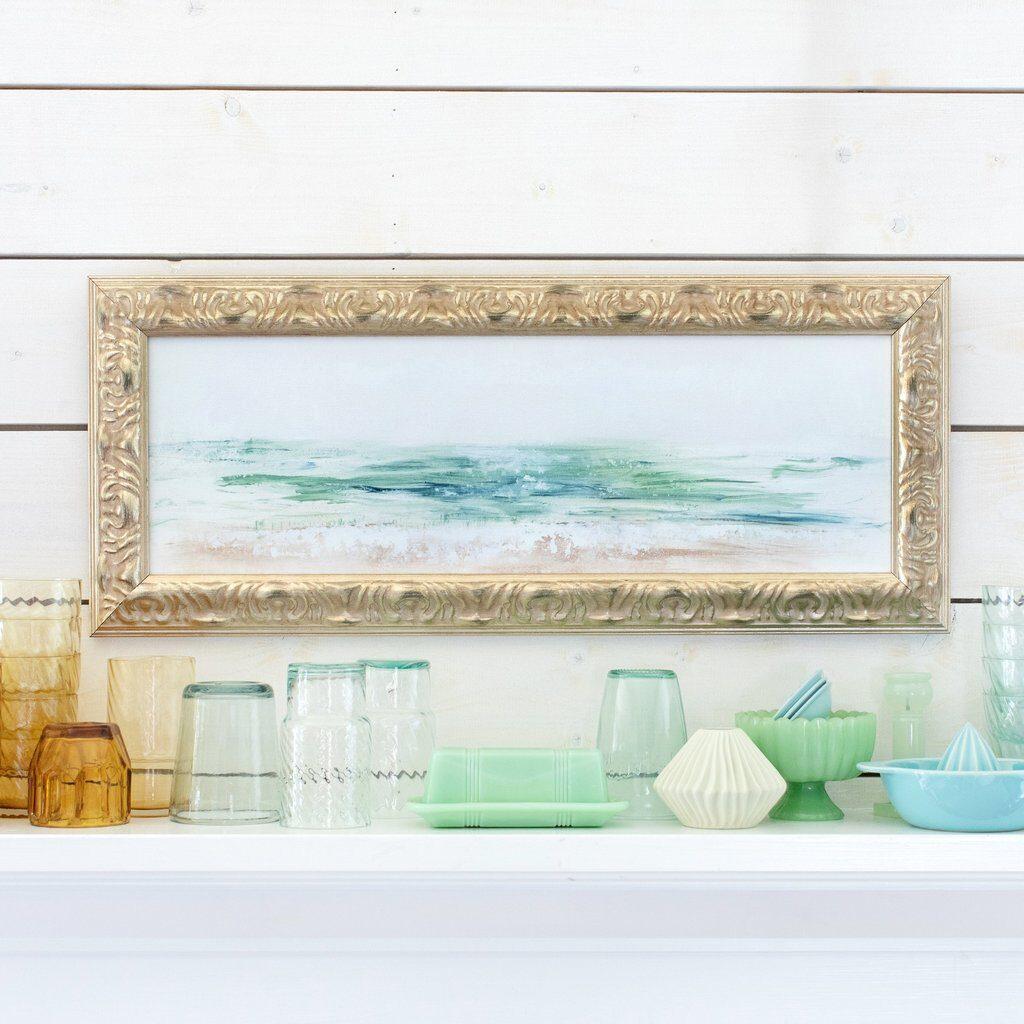 Sea Glass Coast Canvas Art