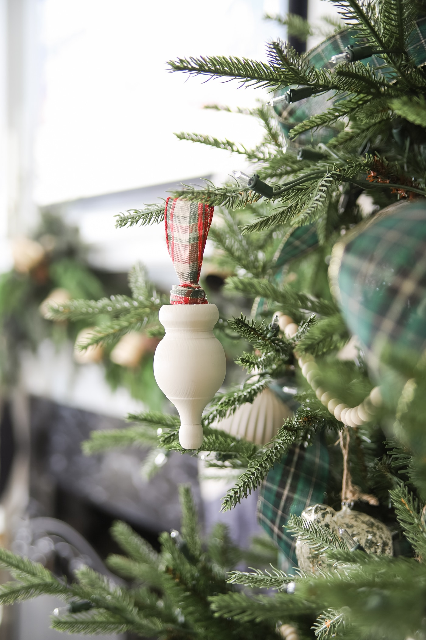 DIY Wooden Finial Christmas Ornament