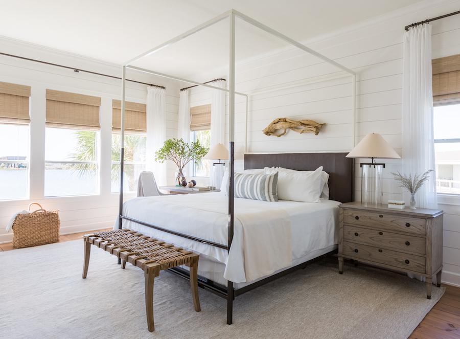 Coastal Bedroom Retreat by Marie Flanigan Interiors