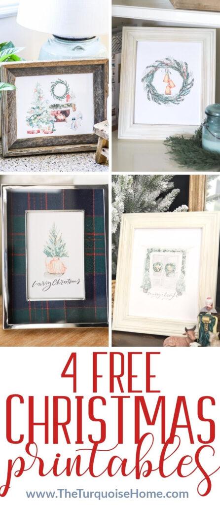 4 Free Christmas Printables