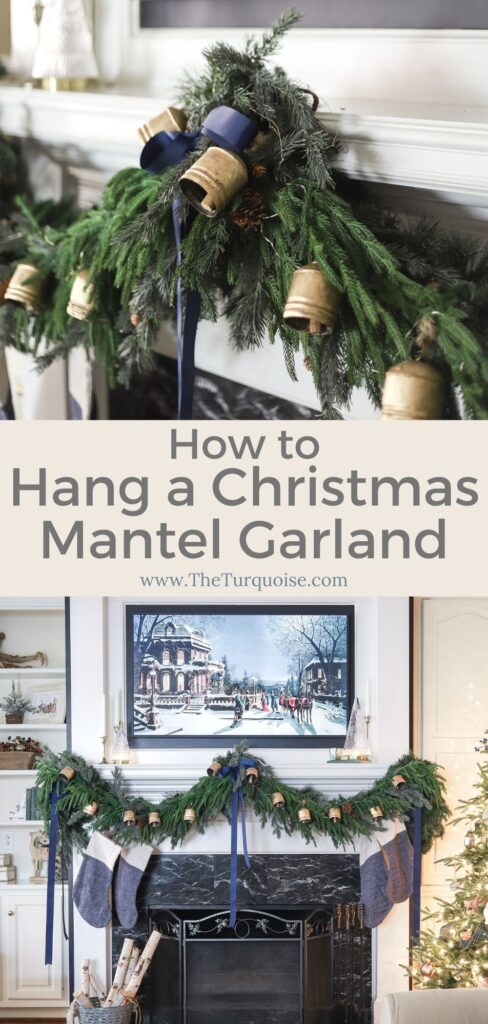 Christmas Mantel Garland Tutorial