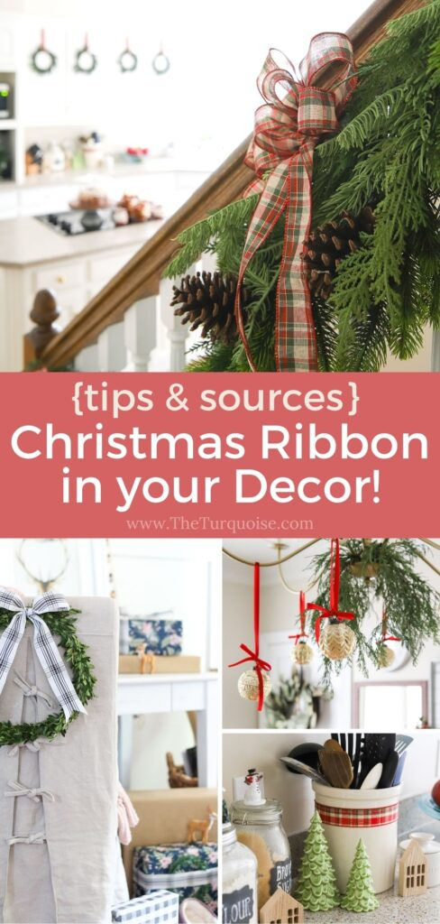 How to Decorate with Christmas Ribbon