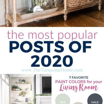 Top Posts of 2020