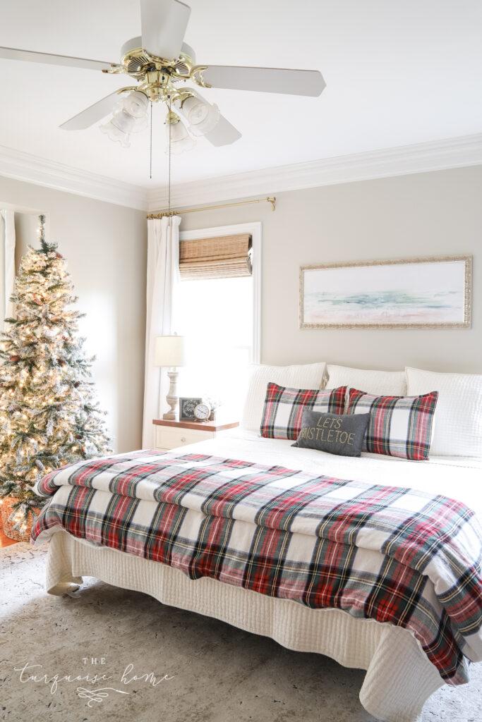 Stewart Plaid Christmas Bedding