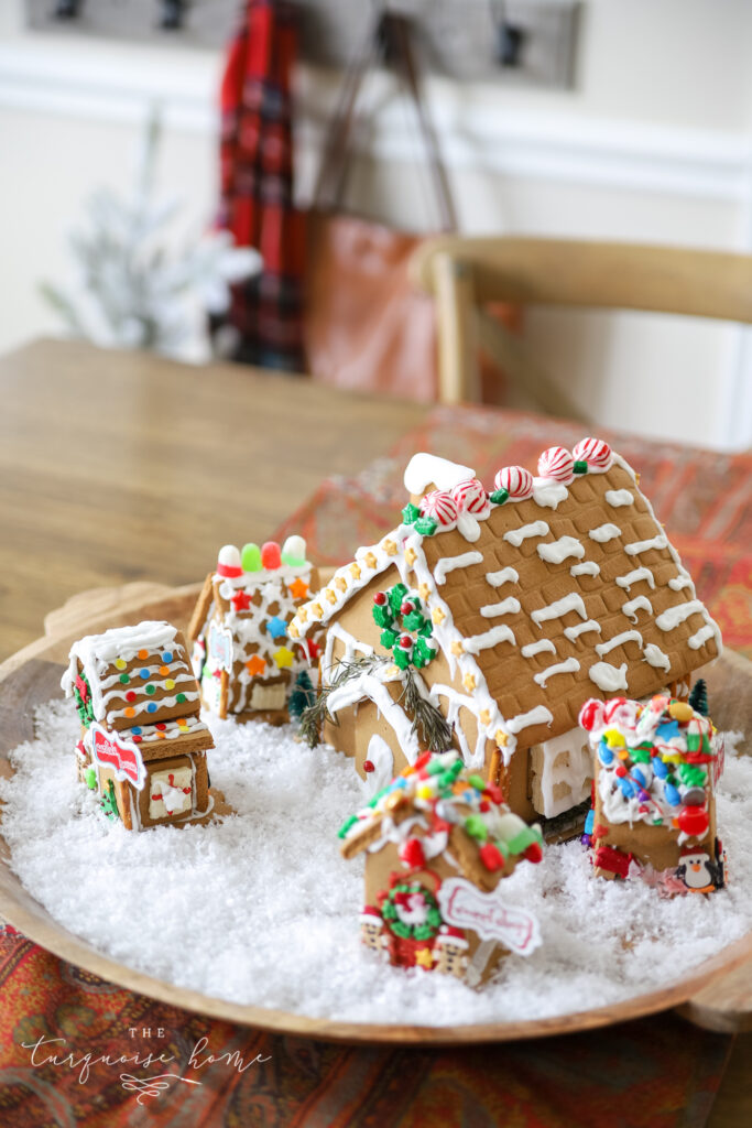 Christmas Gingerbread Village