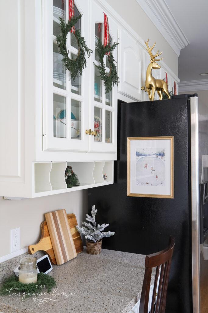 Christmas Kitchen Desk