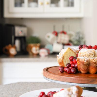 Coffee Cake & Christmas Coffee Bar