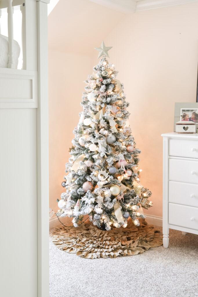 Girls Bedroom Christmas Tree