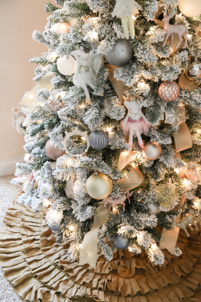 Girls' Bedroom Christmas Tree Decor