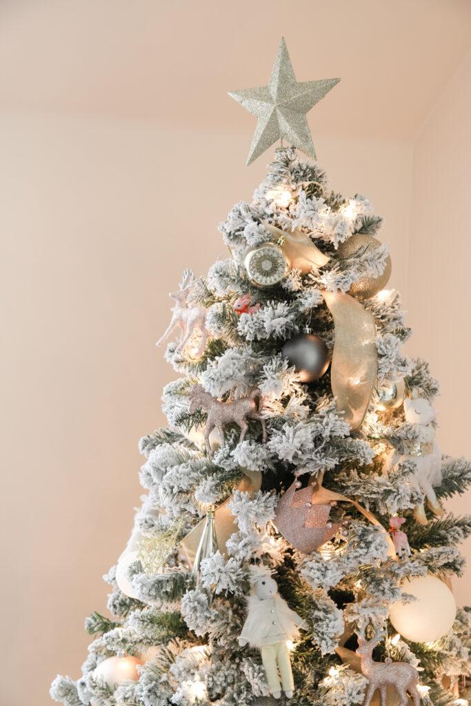 Blush & Gold Christmas Tree