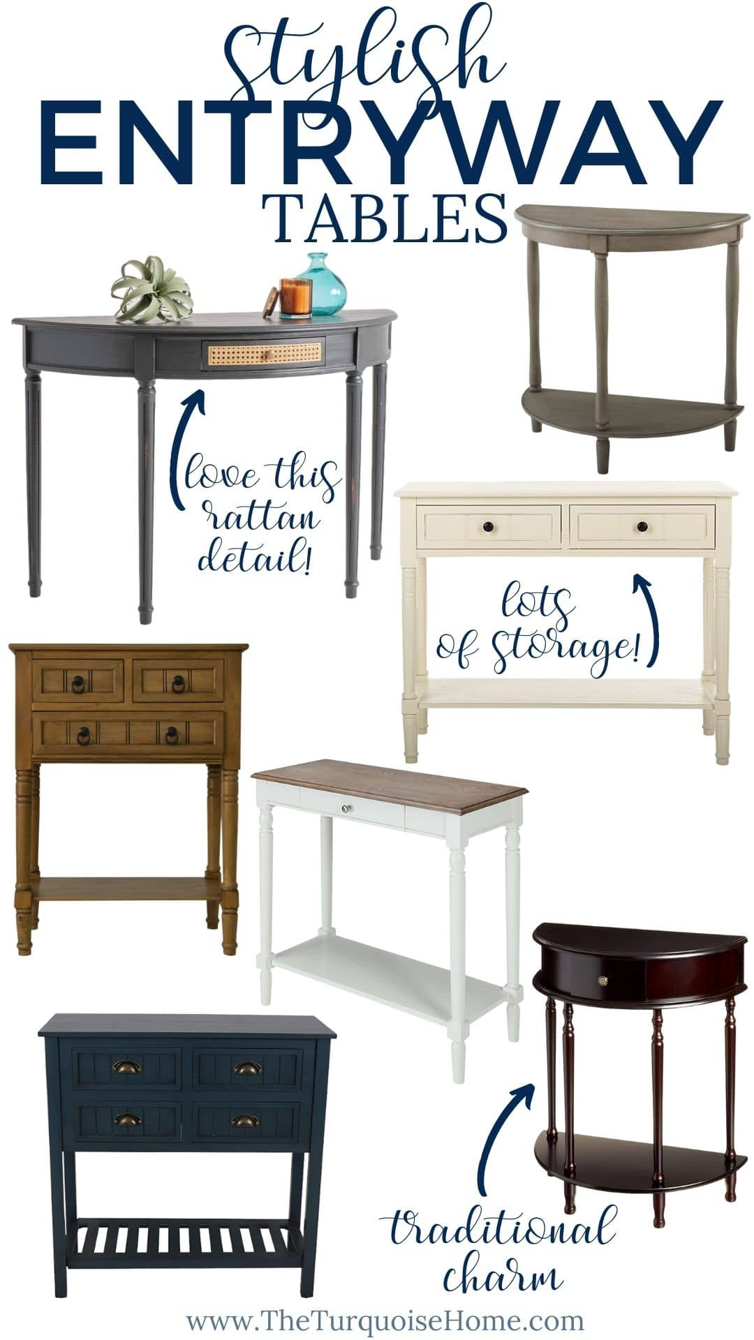 Stylish Entryway Tables