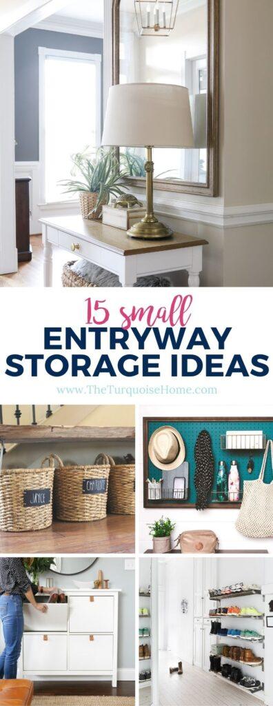 15 Small Entryway Storage Ideas