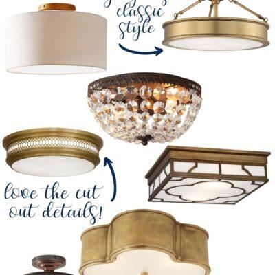 Flush Mount Lighting Ideas