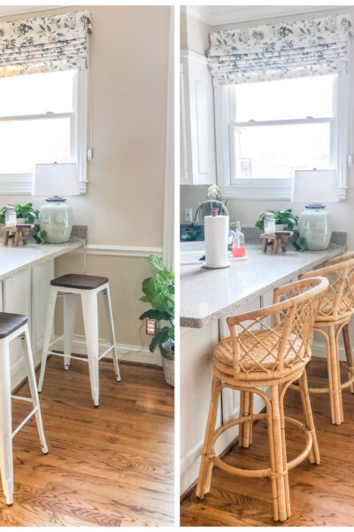 Avalon Counter Stools from Serena & Lily