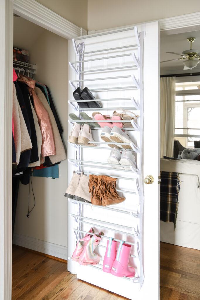 Over-the-Door Shoe Organizer