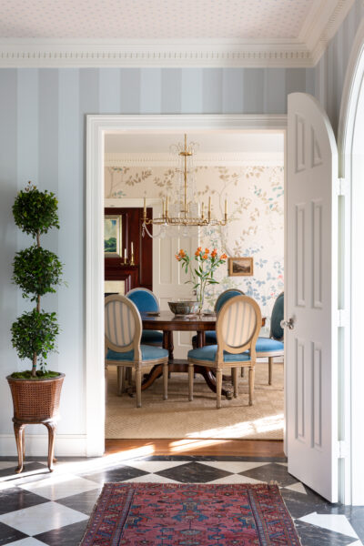 Dining Room by Mark D. Sikes