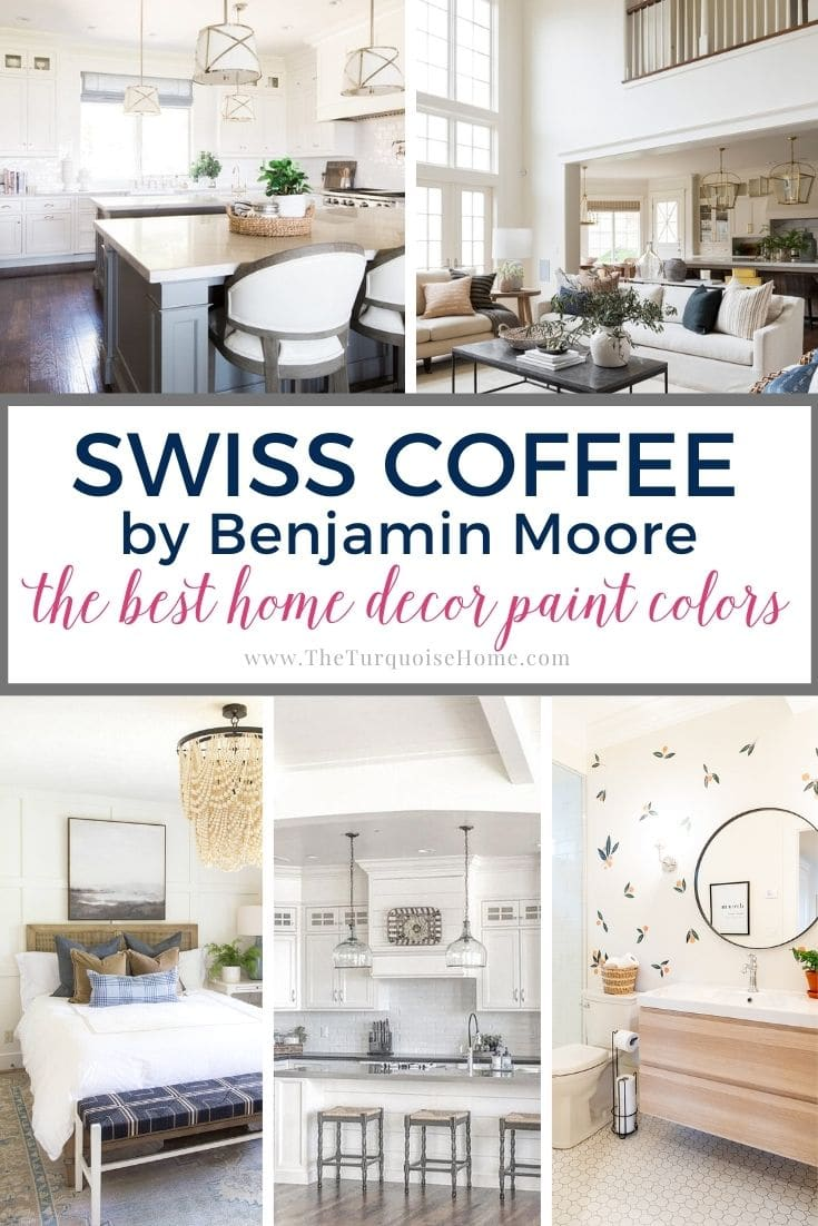 Swiss Coffee by Benjamin Moore