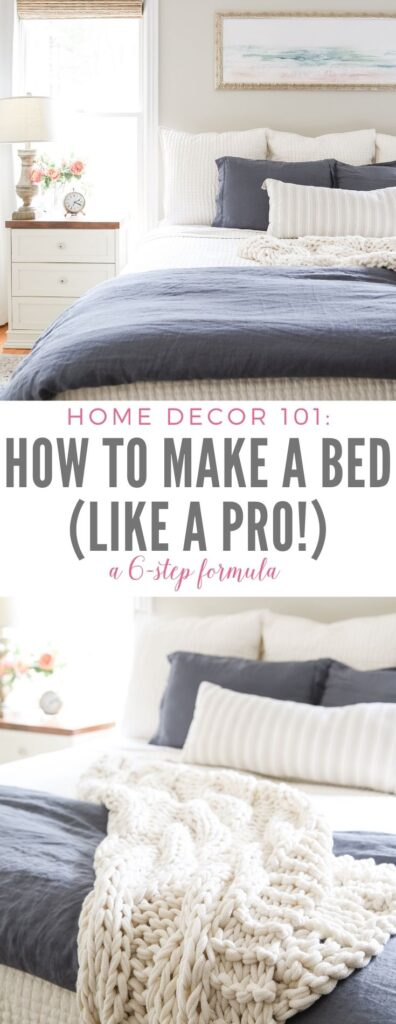 How to Make a Bed (Like a Pro!)