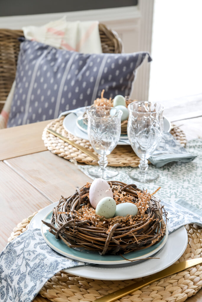 Spring Dining Table Decor