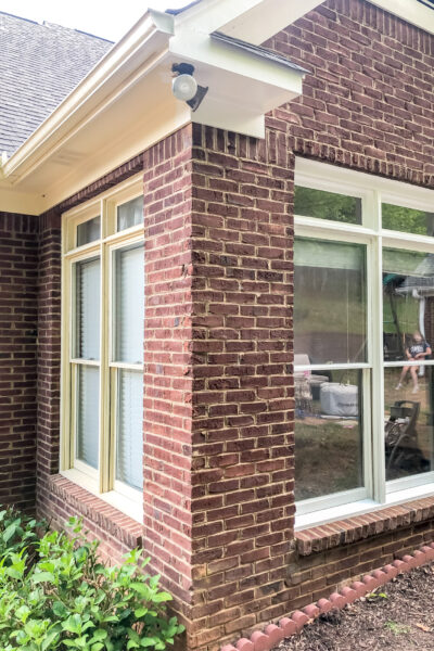 Exterior Paint Job Before & After